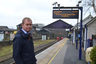 Tim at Windermere station