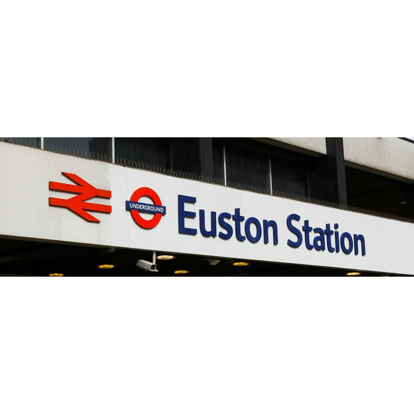 london euston sign