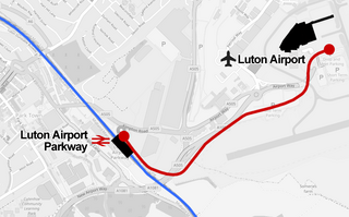 Luton DART Map