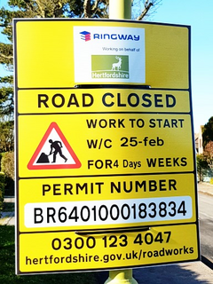 Grove Road Road Works