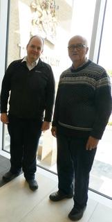 Nigel Taylor and Garrick Stevens DBC Elections 2019