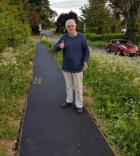 Little Tring Lane Footpath Repaired