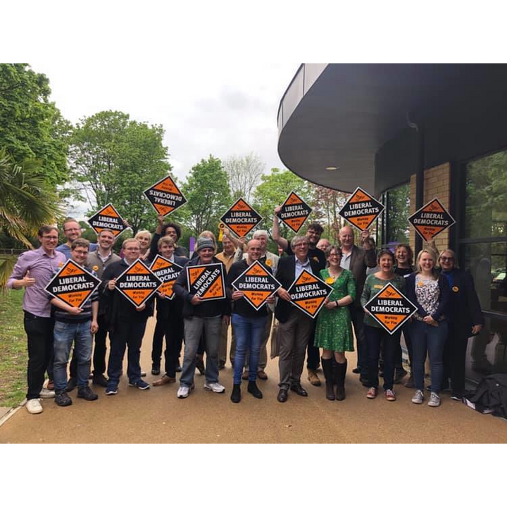 North Hertfordshire Liberal Democrat group photo