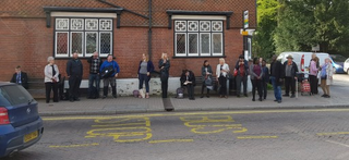 Bus Stop Blues in Tring April 2019