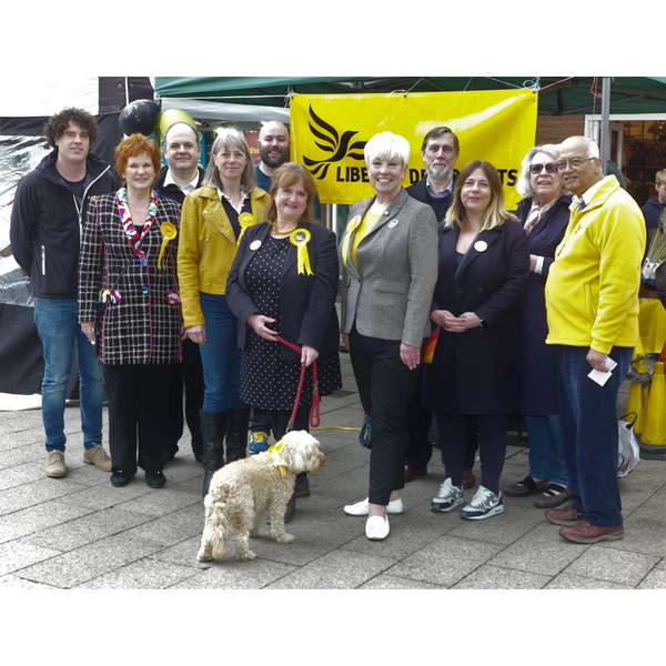 Euro Candidate Barbara Gibson in Berkhamsted