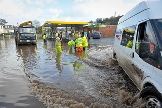 Floods in Cornwall