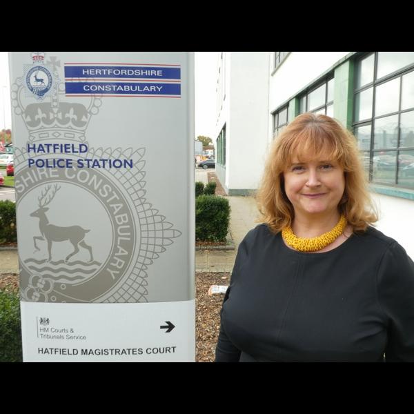 Lara Pringle Candidate Herts PCC