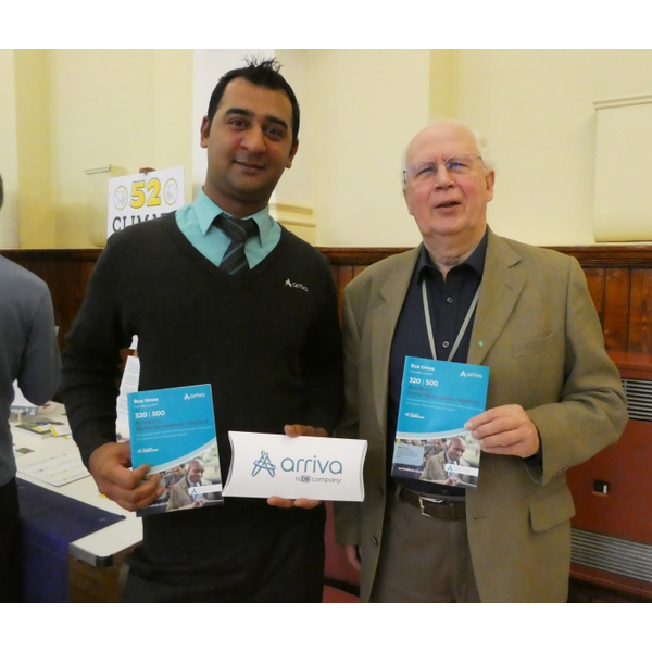 Arriva st Tring Climate Event