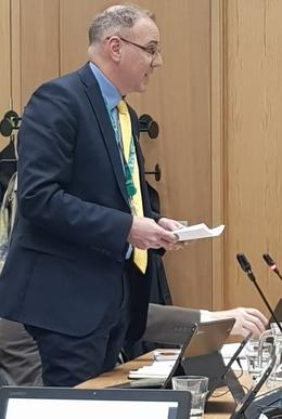 CLLr Adrian England at Dacorum Borough Council