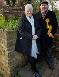 Nick with Sally Beardsworth Northampton