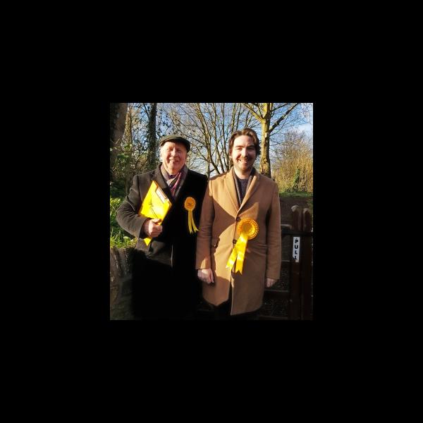 Nick with Stewart in Northhampton