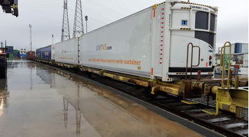 Refrigerated Rail Freight Containers (Network Rail and DB Cargo)