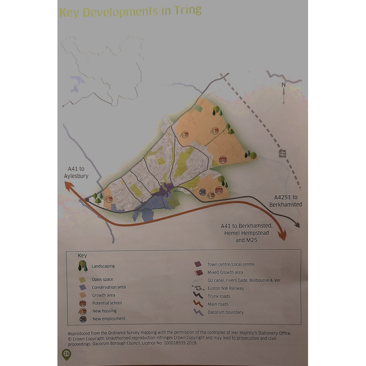 Tring from Draft Local Plan doc