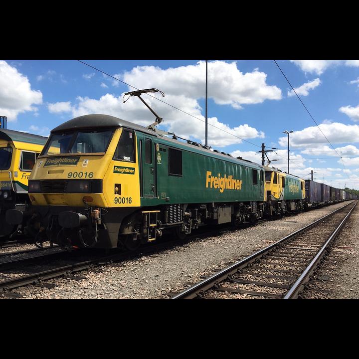 Railway Freight Locomotives (Network Rail)